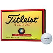 ゴルフボール HVC SOFT DISTANCE(エイチブイシー ソフト ディスタンス) 2ピース ホワイト [1ダース 12球入]