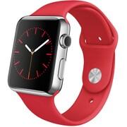 Apple Watch 42mmステンレススチールケースと(PRODUCT)REDスポーツバンド