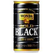 ワンダ ゴールドブラック 缶 185g×30本 [コーヒー飲料]