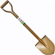 園芸ショベル スチールパイプ柄 剣型