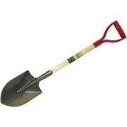 園芸ショベル 木柄 剣型