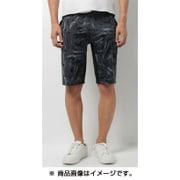 DAT7552P-BLK-M [TOUGHSWEAT Half Pants(3D KAMO) タフスウェット ハーフパンツ(3Dカモ柄) Mサイズ]