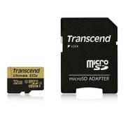 TS32GUSDU3 [microSDHCカード 32GB UHS-I U3対応 MLC 最大読込速度95MB/s,最大書込速度85MB/s U3シリーズ 4K動画撮影 5年保証]
