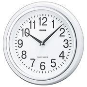 W-663 WH-Z [掛け時計 スタンダードクロック 白マグ ホワイト]
