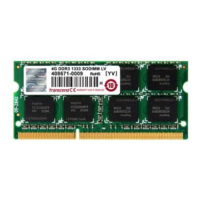 TS512MSK64W3N [ノートPC用メモリ PC3-10600 DDR3-1333 4GB 1.35V 低電圧-1.5V 両対応 204pin SO-DIMM 無期限保証]