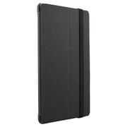 BSIPD715LFBK [iPad mini 4用 レザーケース フラップ ブラック]