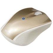 MUS-BKT99GL [Bluetooth 3ボタンBlue LEDマウス ゴールド]
