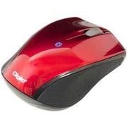 MUS-BKT99R [Bluetooth 3ボタンBlue LEDマウス レッド]