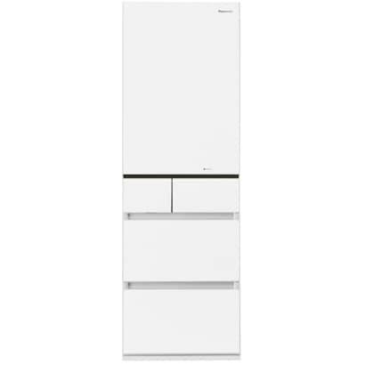 NR-E431GV-W [エコナビ搭載冷蔵庫 (411L・右開き) 5ドア スノーホワイト]
