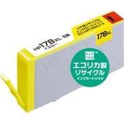 ECI-HP178XLY-V [HP CB325HJ 互換 大容量 リサイクルインクカートリッジ イエロー]