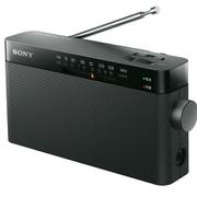 ICF-306 [ポータブルFM/AMラジオ 中型 ワイドFM対応 ブラック]