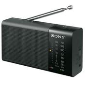 ICF-P36 [ポータブルFM/AMラジオ 横置き型 ワイドFM対応 ブラック]