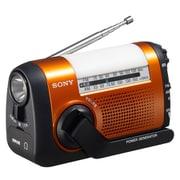 ICF-B09 D [手回し充電FM/AMラジオ ワイドFM対応 オレンジ]