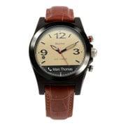 MVR02AVB10 [Martian Watch Voice comand Aviator B10 Bluetooth 4.0/日本アナログ時計ムーブメント/IPX4/有機EL液晶画面]