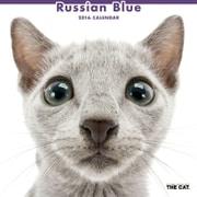 THE CAT カレンダー2016 ロシアンブルー [2016年カレンダー 壁掛けタイプ]