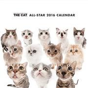 THE CAT ミニカレンダー2016 オールスター [2016年カレンダー 壁掛けタイプ]