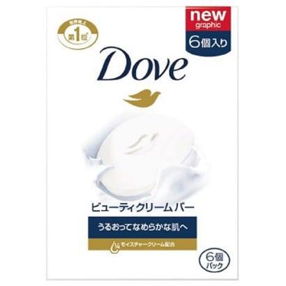 Dove(ダヴ) ビューティー クリームバー ホワイト 6個パック [石鹸]