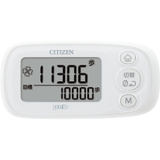 TWT512-WH [デジタル歩数計 peb(ペブ)シリーズ 3D加速度センサー ピュアホワイト]
