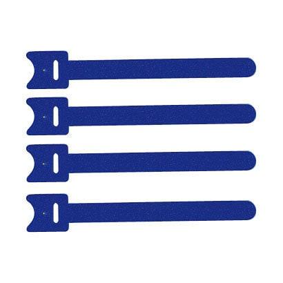 CA-MF1BN [ケーブルタイ 面ファスナー 120×20(10)mm 4本入 ブルー]