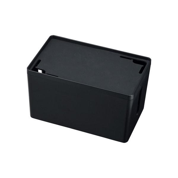 CB-BOXP1BKN2 [ケーブル&タップ収納ボックス Sサイズ ブラック]