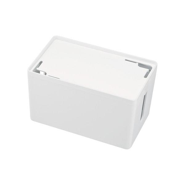 CB-BOXP1WN2 [ケーブル&タップ収納ボックス Sサイズ ホワイト]