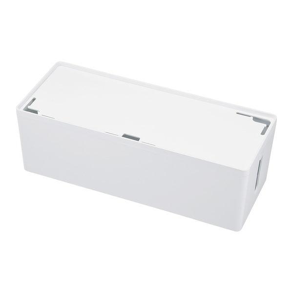 CB-BOXP3WN2 [ケーブル&タップ収納ボックス Lサイズ ホワイト]