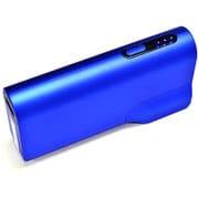 RBBA047 [AC充電器+モバイルバッテリー 2A 5200mAh ブルー]