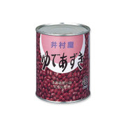 井村屋 ゆであずき 2号缶 1kg [缶詰 1缶]
