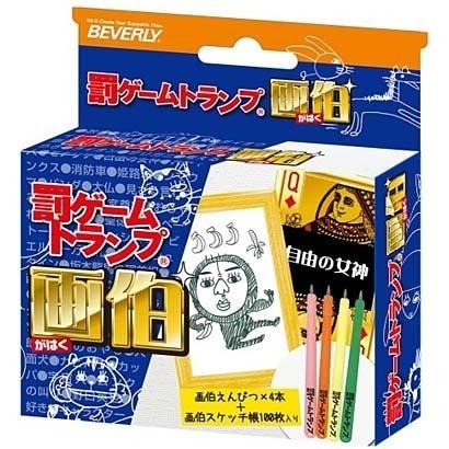 TRA-054 罰ゲームトランプ 画伯 [カードゲーム]