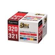 CC-C320321-5PK [キャノン BCI-321+320 5MP互換 使い切りタイプ 5色セット]