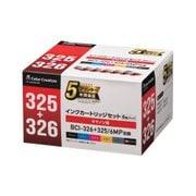 CC-C325326-6PK [キャノン BCI-326+325 6MP互換 使い切りタイプ 6色セット]