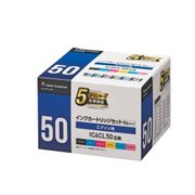 CC-EIC50-6PK [エプソン IC6CL50互換 使い切りタイプ 6色セット]