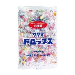 サクマ製菓 サクマドロップス 1kg [菓子 1袋]