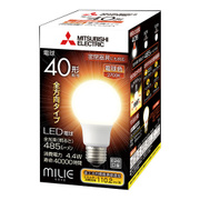 LDA4L-G/40/S-A [LED電球 E26口金 電球色 485lm 密閉器具対応 全方向 MILIE(ミライエ)]