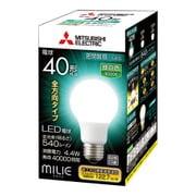 LDA4N-G/40/S-A [LED電球 E26口金 昼白色 540lm 密閉器具対応 全方向 MILIE(ミライエ)]