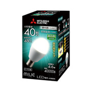 LDA5N-G-E17/40/D/S [LED電球 E17口金 昼白色 480lm 調光器具対応 全方向 MILIE(ミライエ)]