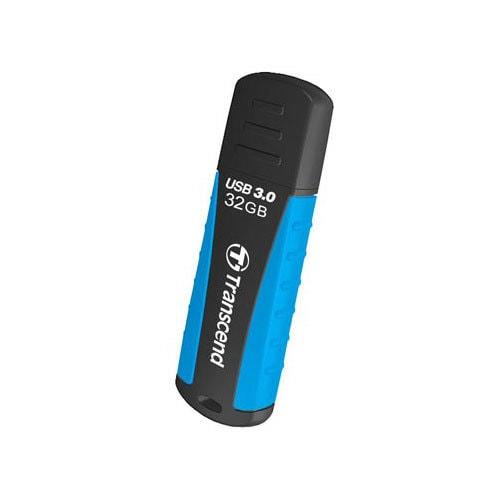 TS32GJF810 [USBメモリ USB 3.0対応 キャップ式 耐衝撃 防滴 防塵 32GB ブラック]