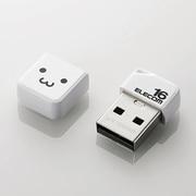 MF-SU2B16GWHF [USBメモリ USB2.0 小型 キャップ付 16GB ホワイト]