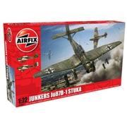 X3087 ドイツ空軍 急降下爆撃機 ユンカース Ju-87B-1 スツーカ [1/72 エアクラフトシリーズ]