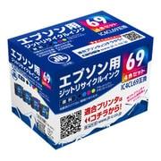 JIT-KE694P [リサイクルインクカートリッジ エプソン用 4色セット]