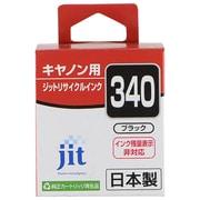 JIT-KC340B [キヤノン BC-340 互換インクカートリッジ ブラック]