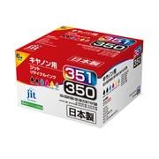 JIT-AC3503516P [キヤノン BCI-351+350/6MP互換 標準6色マルチパック対応 ジットリサイクルインク]