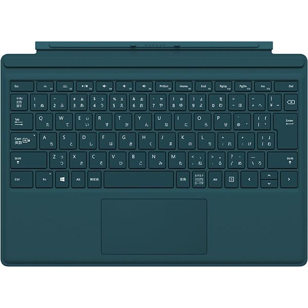 QC7-00075 [Surface Pro 4 タイプ カバー ティール グリーン]