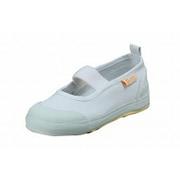 MOONSTAR(ムーンスター) CR ST11 ホワイト 19.5cm [校内履き・上履き(バレエタイプ) キッズ用シューズ]