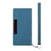 TR-UTFNTC15-NBL [iPod touch 6th Journal 薄型フリップノートケース ブルー]