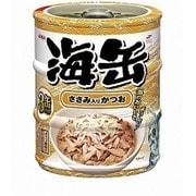 海缶ミニ3P ささみ入りかつお 60g×3缶 [キャットフード ウェットフード 缶]