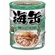 海缶ミニ3P 削りぶし入りかつお 60g×3缶 [キャットフード ウェットフード 缶]
