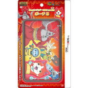 New 3DS LL用 妖怪ウォッチ ポーチ3 レッド