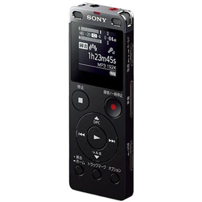 ICD-UX560F BC [ICレコーダー 4GBメモリー内蔵 ブラック ワイドFM対応]