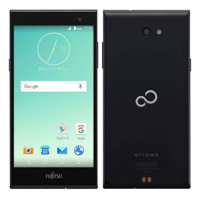 FARM0600D [arrows M02 Android 5.1搭載 5.0インチ液晶 SIMフリースマートフォン ブラック]